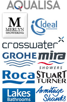 major brand logos of bathroom suppliers